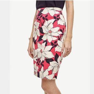 Ann Taylor Floral Print Skirt Size 12